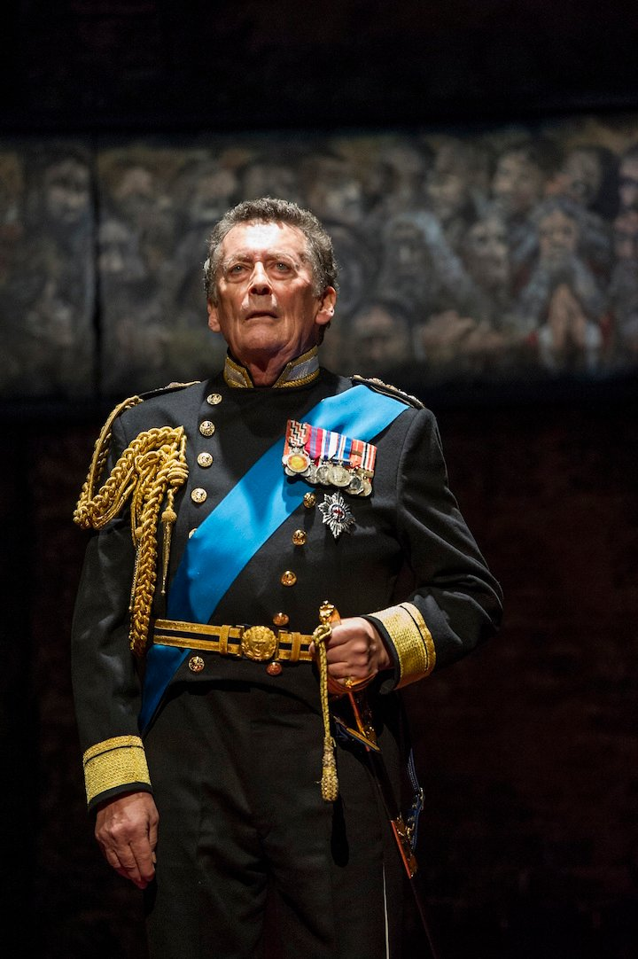 Robert Powell in King Charles III UK Tour. Credit Richard Hubert Smith