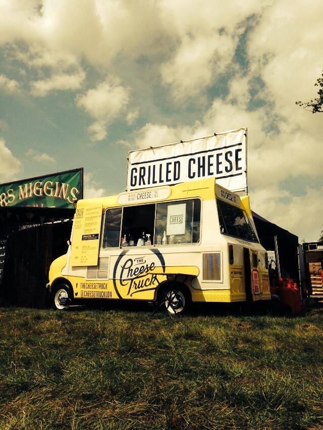 Bet The Cheese Truck didn't need to show its passport to get into Glastonbury
