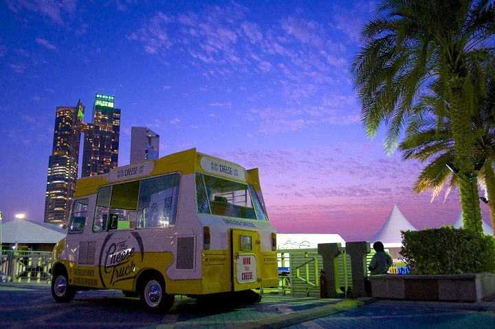 Better travelled than you? The Cheese Truck in Dubai