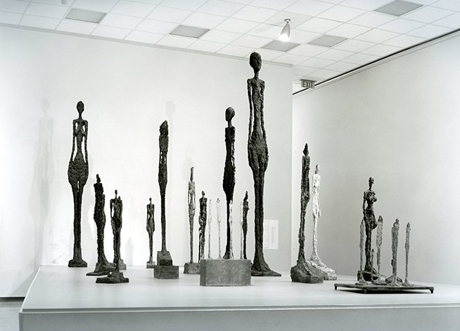 Sculptors by Alberto Giacometti