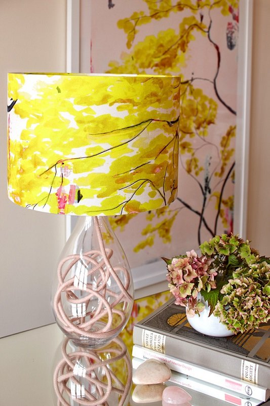 Size: medium; design: Chinese Tree; flex shade: rose