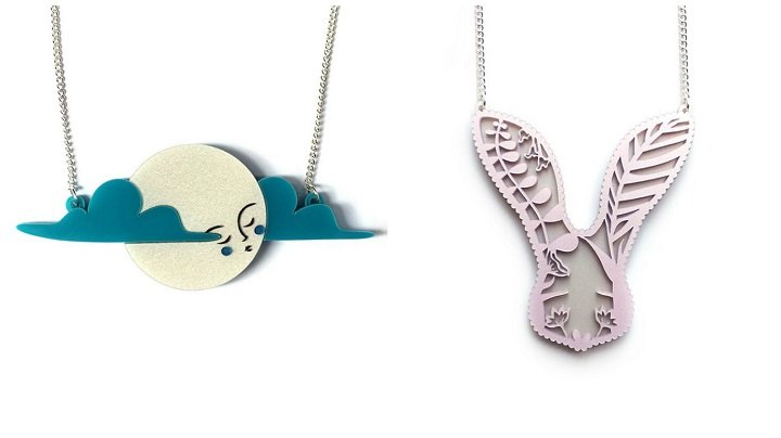 Be over the moon with your choice of necklace