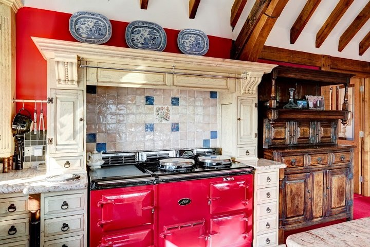 kitchen - AGA