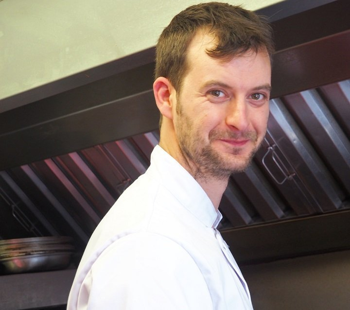 Head Chef Oliver Sanders