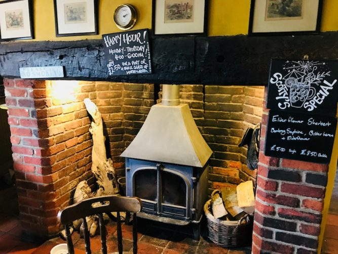inglenook fireplace red brick pictures chalk board logs