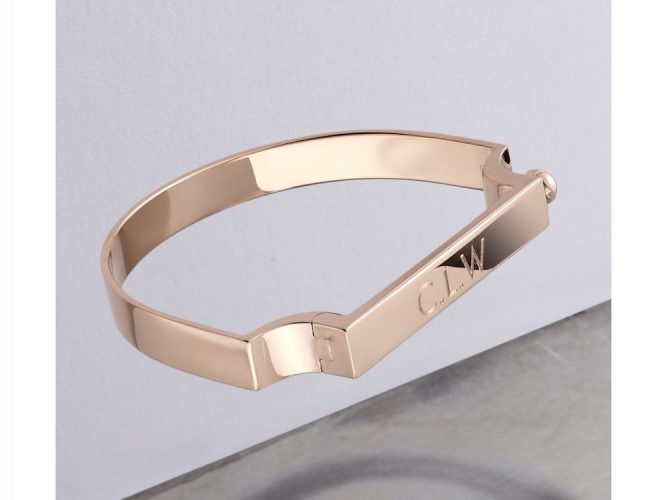 Monica Vinada rose gold bracelet
