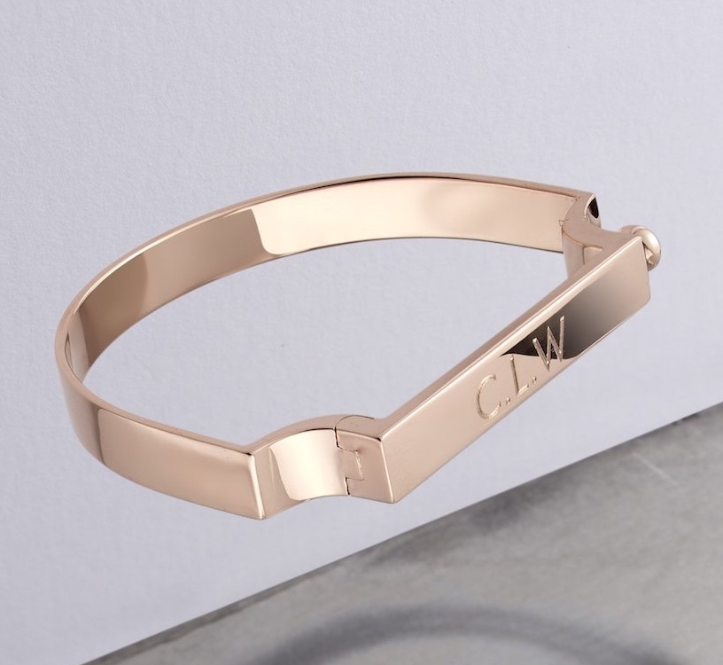 Monica Vinaia rose gold signature bracelet