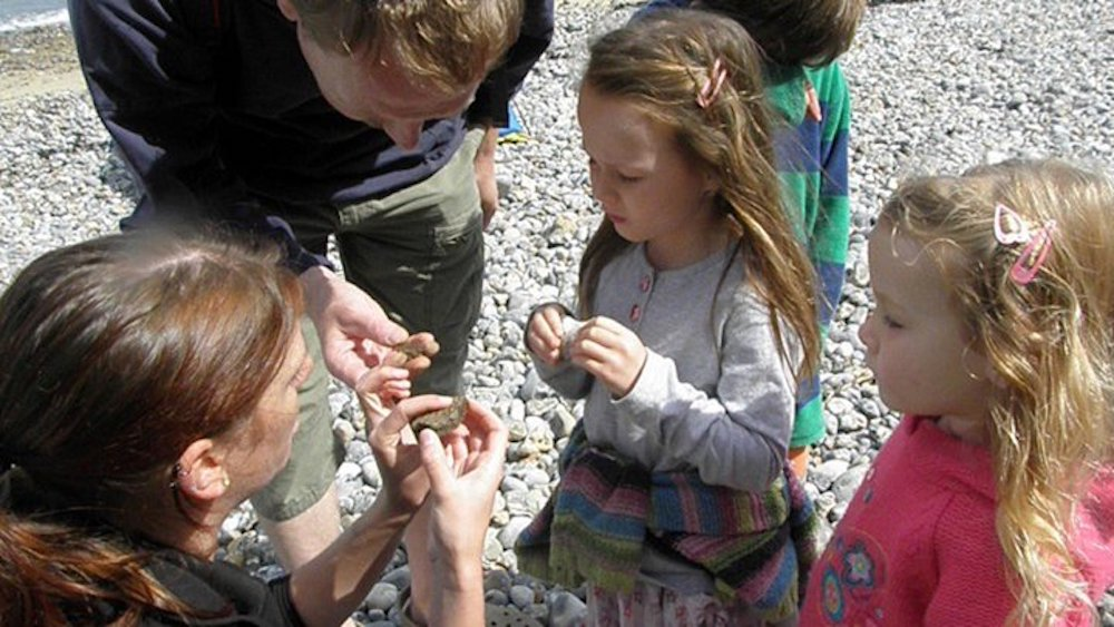 children fossils west runton beach