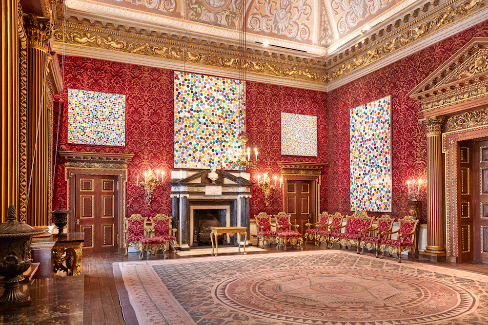spot pictures red room houghton hall guided chairs