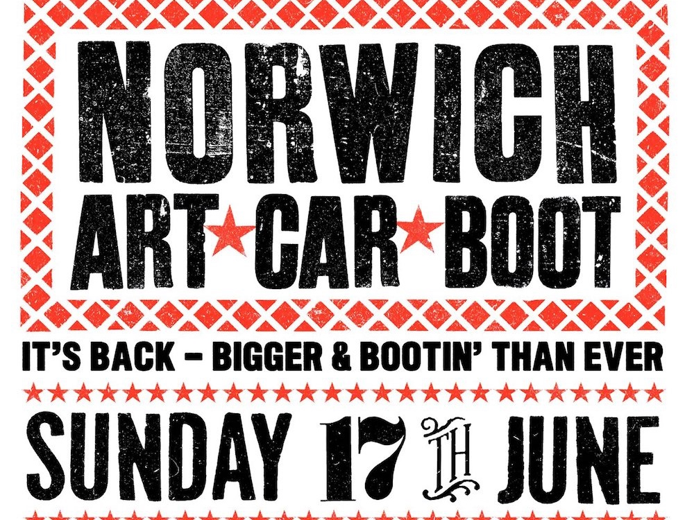 Norwich Art Car Boot