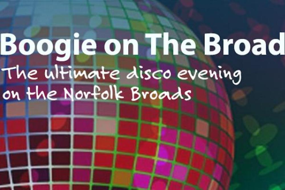 boogie on the broads disco ball