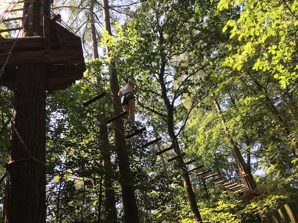 go ape high ropes course