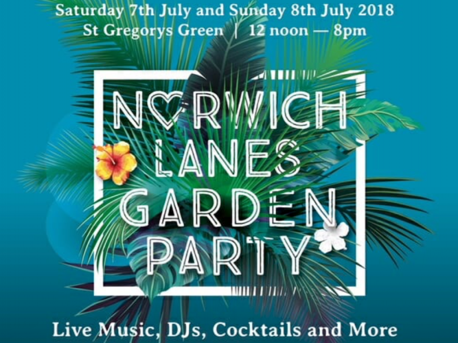 norwich lanes garden party