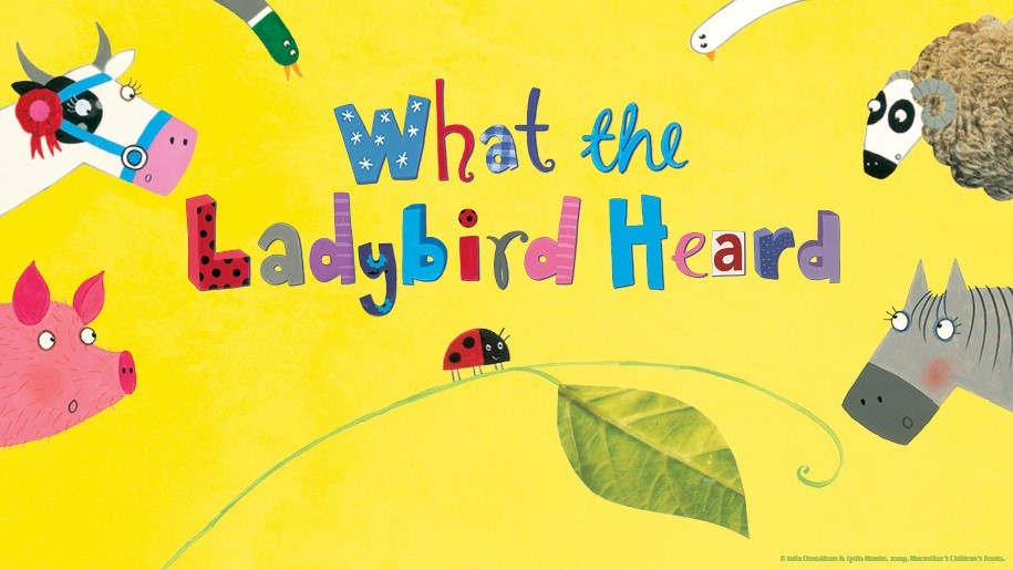what the ladybird heard Julia Donaldson cow pig sheep horse leaf