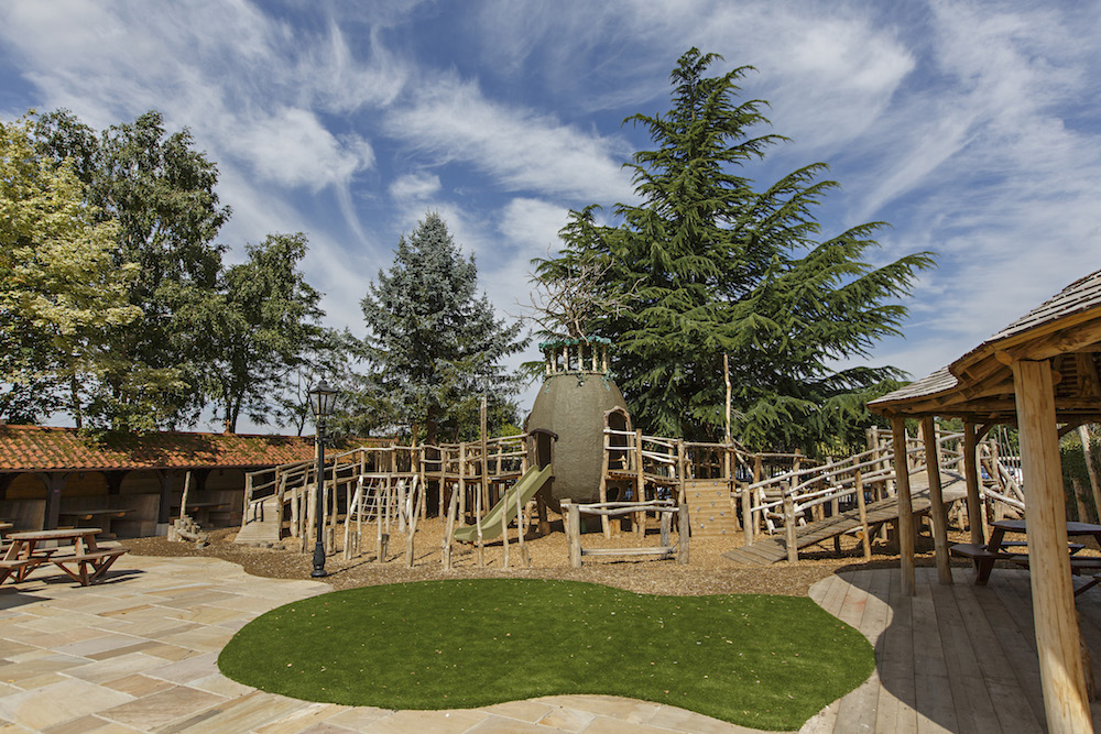 Ffolks Hillington beer garden play area