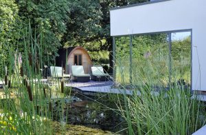 imagine spa lake pod sun loungers