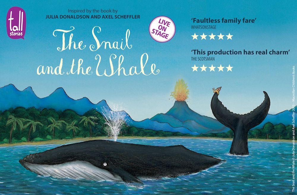 book cover of snail and the whale