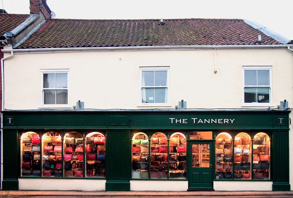 The Tannery shop front