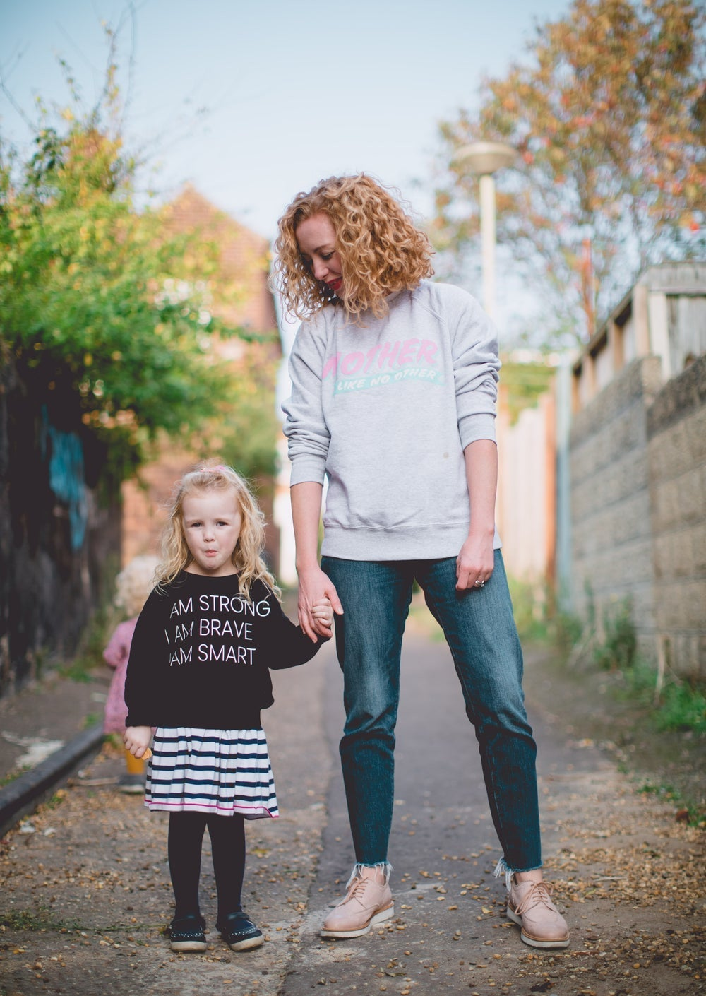 mum and daugher in mother like no other tops