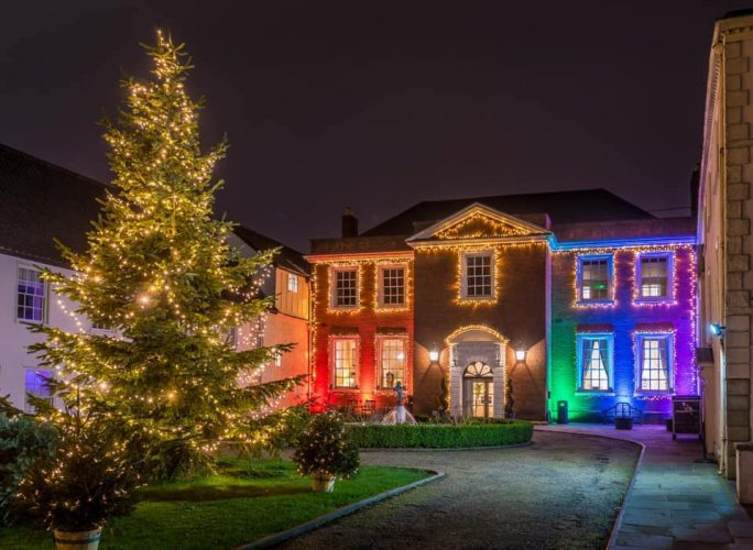 christmas lights on norwich assembly house