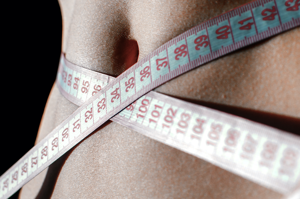 stomach measuring tape